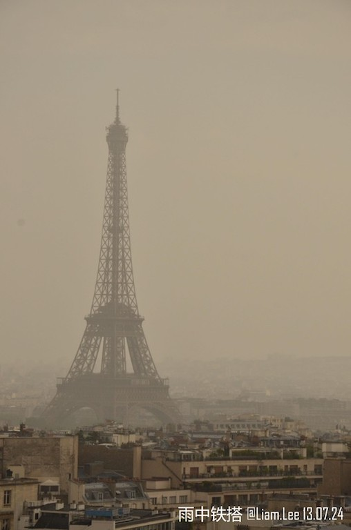 最后一天法国巴黎